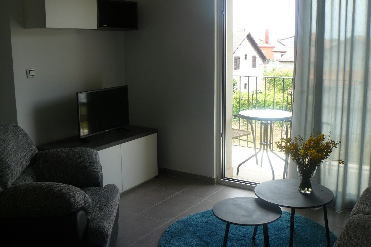 Four person apartment with a small balcony